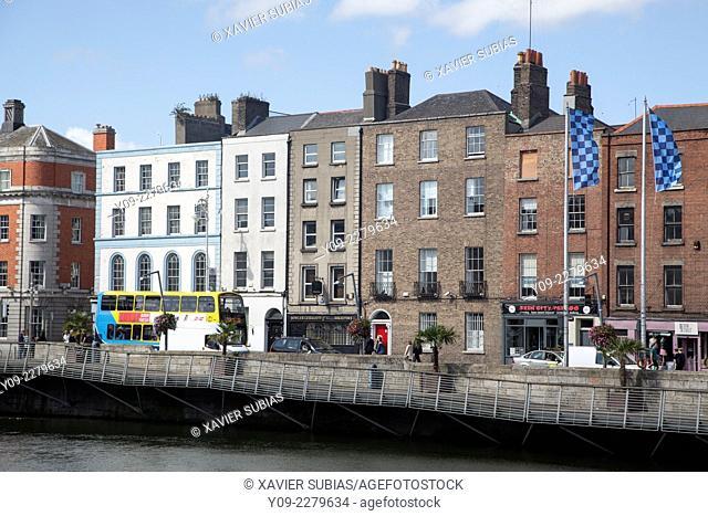 Lower Ormond Quay, Dublin, Leinster, Ireland