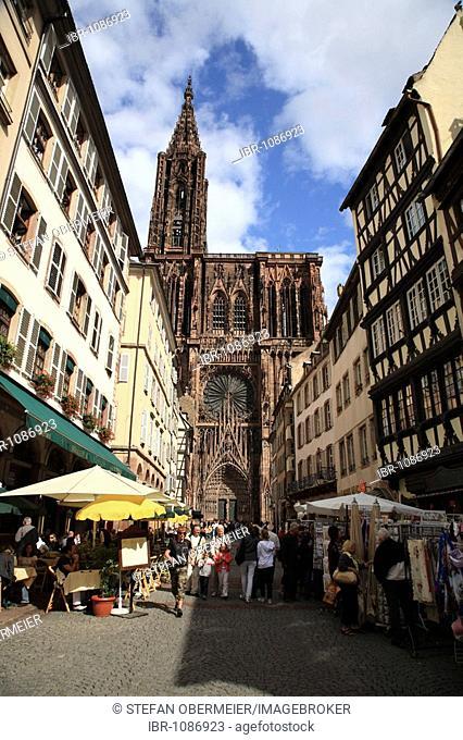 Strasbourg Cathedral, Strasbourg, Alsace, France
