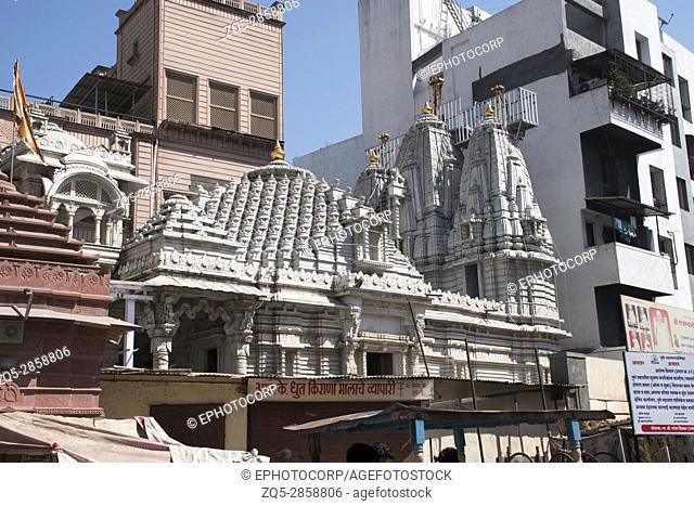 Facade, Somwar Peth Jain Temple, Pune, Maharashtra