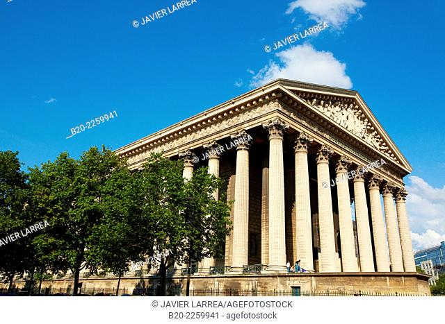 Eglise de la Madeleine Church. Paris. France. Europe