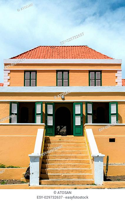Architectual detail of a caribbean building