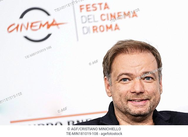 Anfre' Ovredal attend 'Scary Stories to Tell in the Dark' film photocall during 14th Rome Film Fest, Rome, Italy 18/10/2019