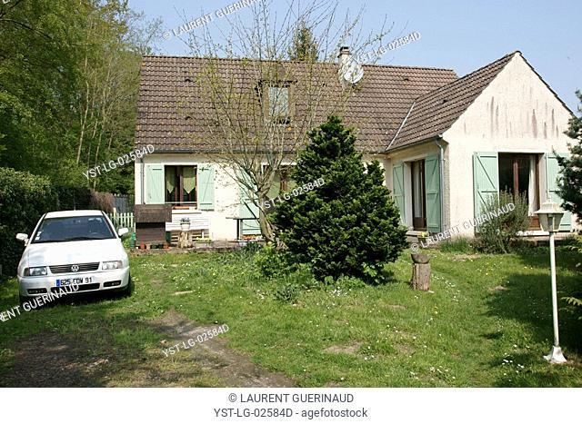 Country house, Boissy sous Saint Yon, Essonne, Ile de France, France
