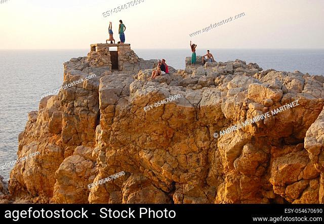 Menorca Balearic Islands Spain Europe.