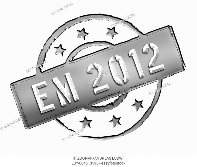 EM 2012 - Stamp