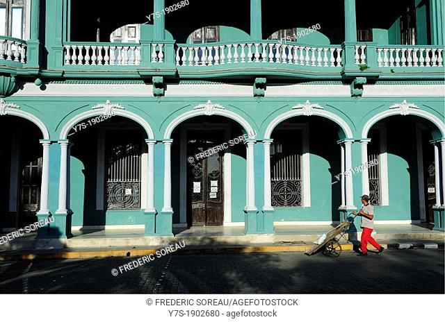 old building in Santa Clara, Villa Clara Province, Cuba