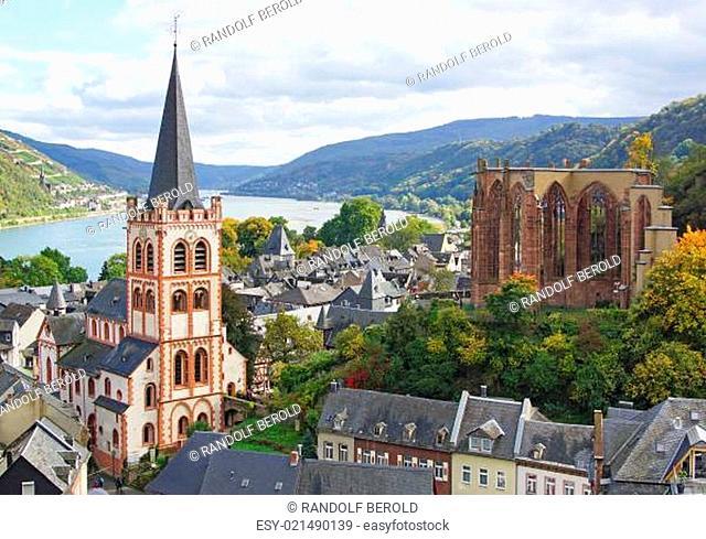 Am Rhein - Bacharach