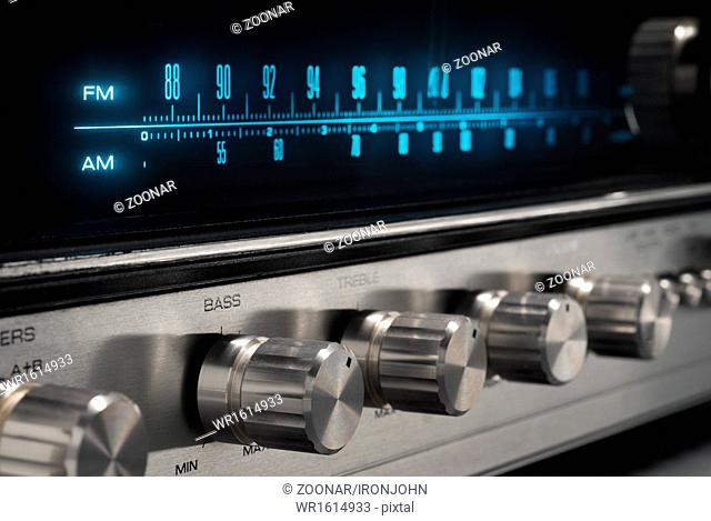 Old Stereo Receiver
