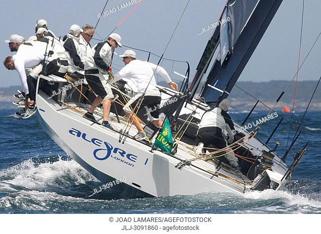 Alegre, #19, Owner: Andy Soriano, Sail nr: GBR8819R, Yacht Club Monaco, Builder: Longitud Cero; Rolex TP 52 World Championship, TP52 Super Serires, Cascais