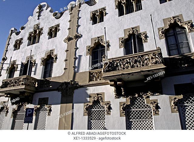 Santa Clara College, quarter Sarria, Barcelona, Catalonia, Spain