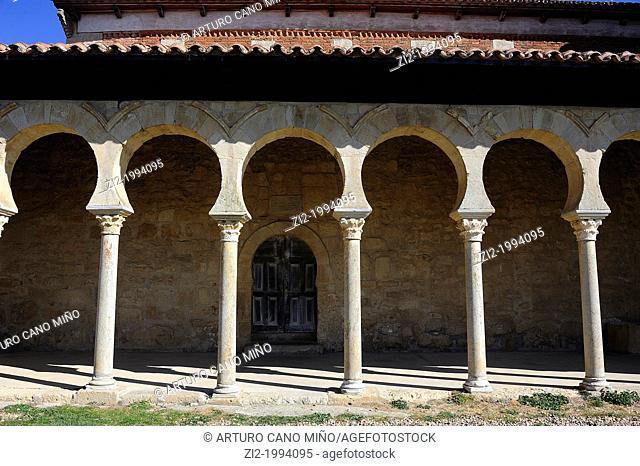 Mozarabic church of San Miguel de Escalada tenth century. Gradefes, Leon, Spain