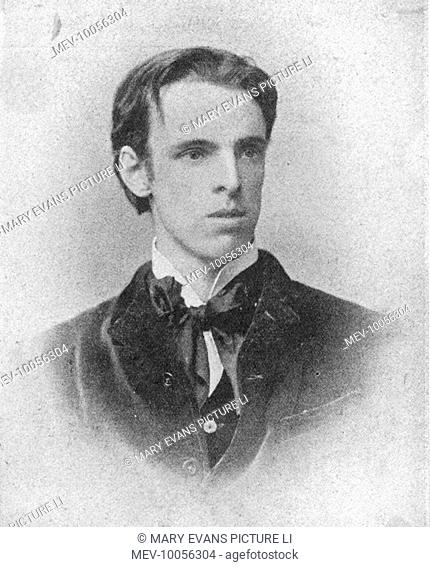 William Butler YEATS Irish poet and statesman as a young man