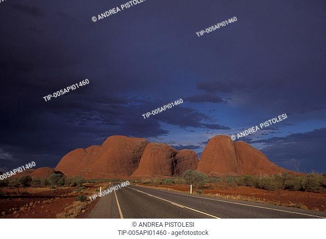 Australia, Olgas Mountains, Uluru National Park