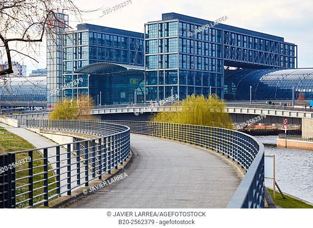 Hauptbahnhof, Berlin Central Station, Berlin, Germany