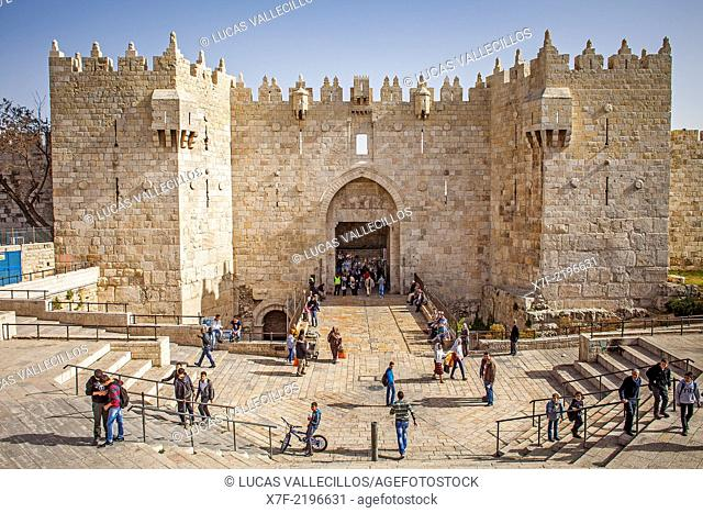 Damascus Gate; Old City, Jerusalem, Israel