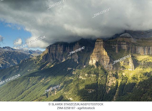 Ordesa y Monte Perdido National Park in the Pyrenees, Huesca, Aragon, Spain