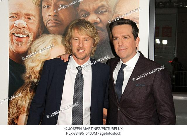 """Owen Wilson, Ed Helms at the Premiere of Warner Bros' """"""""Father Figures"""""""" held at the TCL Chinese Theater in Hollywood, CA, December 13, 2017"""