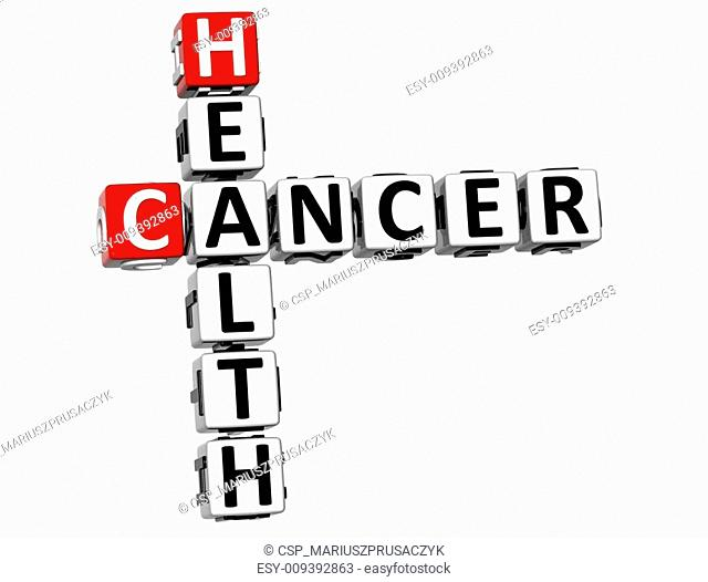 3D Cancer Health Crossword