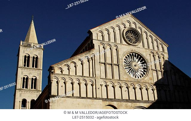St. Anastasia cathedral, Zadar, Dalmatia, Croatia, Europe