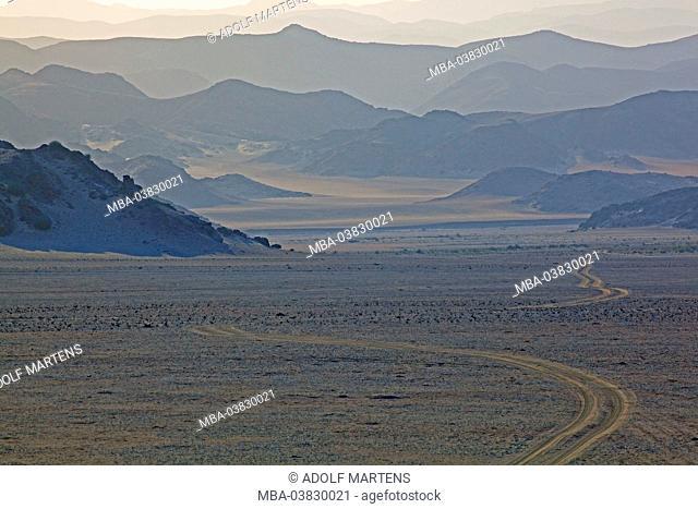 Africa, Namibia, Erongo region, skeleton coast park, Hoanibmund