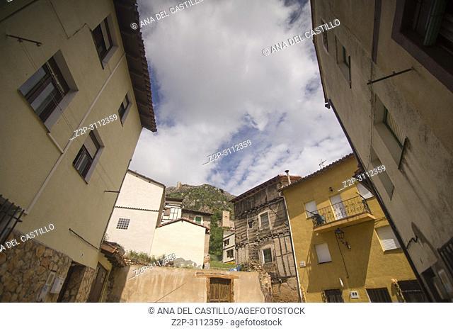 Poza de la Sal is an ancient village in Burgos province Castile and Leon Spain