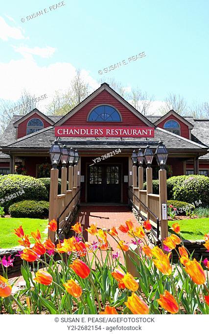 Chandler's Restaurant, South Deerfield, Massachusetts, United States, North America