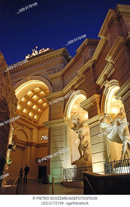 Las Vegas, Nevada, U.S.A., Monte Carlo Casino