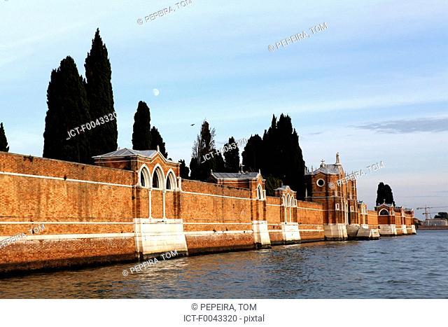 Italy, Venice, cemetary