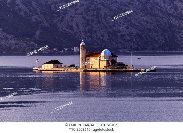 Our Lady of Rocks, Perast, Bay of Kotor, Montenegro