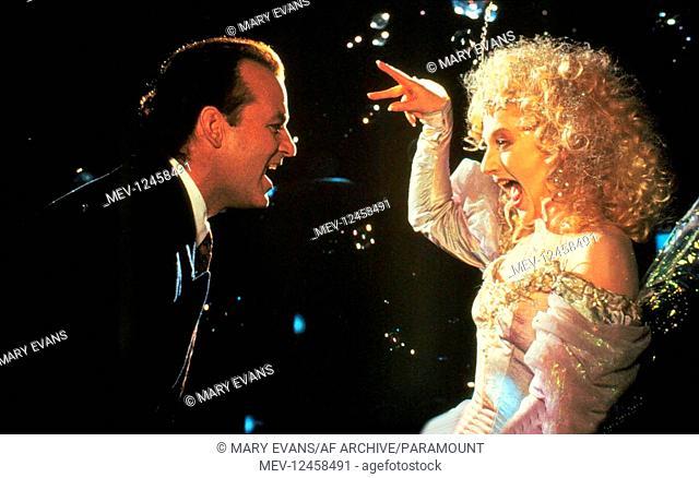Bill Murray & Carol Kane Characters: Frank Cross & Ghost of Christmas Present Film: Scrooged (1988) Director: Scrooged 23 November 1988