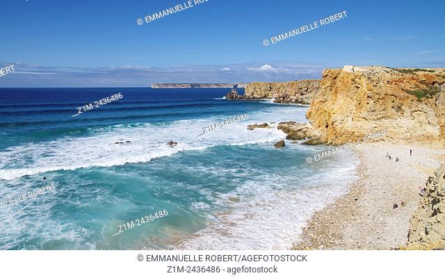 Cap Saint Vincent, Sagres, Algarve, Portugal, Europe
