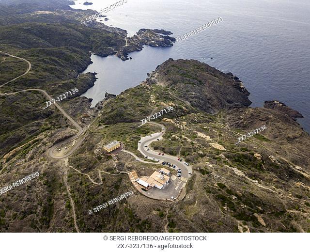 Norfeus cap, Creus Cap Natural Park, Costa Brava, Girona, Spain / Cabo Norfeus, P. Natural Cabo de Creus, Costa Brava, Girona