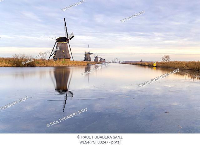 Netherlands, Holland, Rotterdam, Kinderdijk