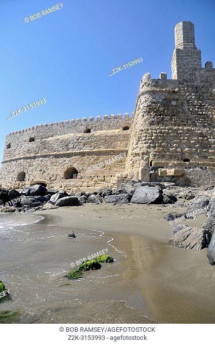 Fort de Koules activity in Heraklion, Crete