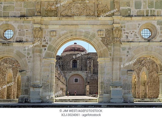 Cuilapam de Guerrero, Oaxaca, Mexico - The monastery of Santiago Apóstol, begun in 1556 and never completed