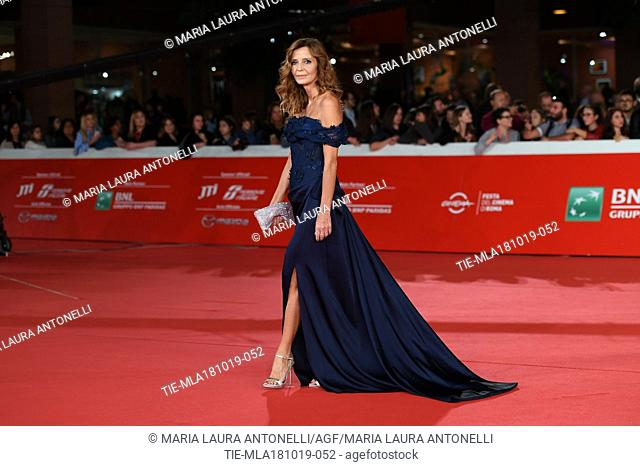 Eliana Miglio during the red carpet of film Motherless Brooklyn at the 14th Rome Film Festival, Rome, ITALY-17-10-2019