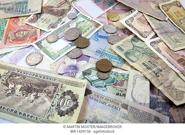 Display Foreign Currency Stock Photos