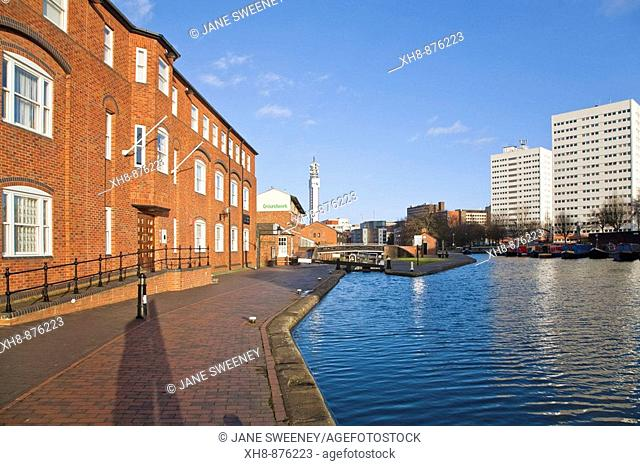 Endland, West Midlands, Birmingham, Birmingham and Fazeley Canal, Cambrian Wharf