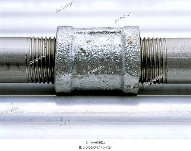Close-up of a bolt