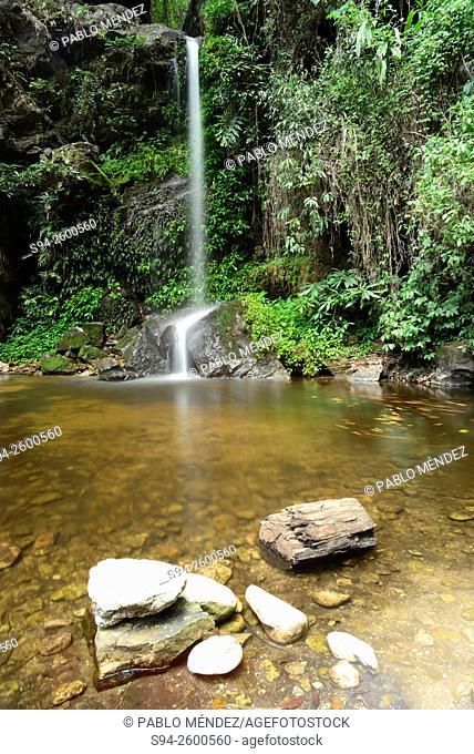 Mon Tha Than waterfall in Doi Suthep near Chiang Mai, Thailand