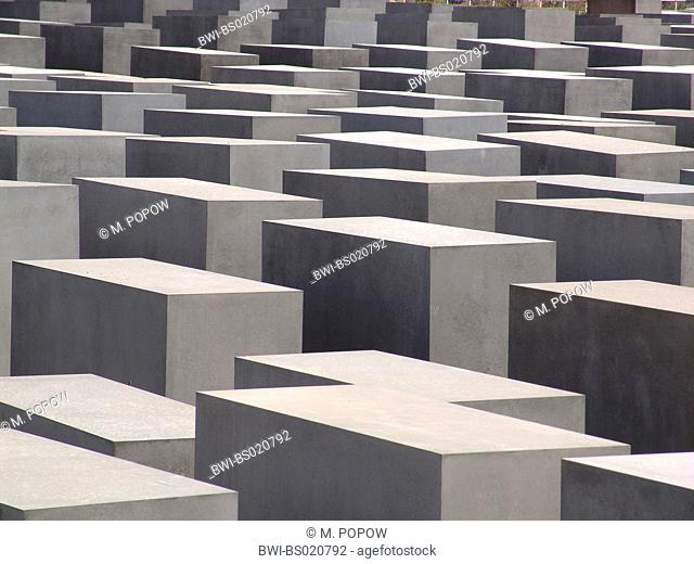 Memorial to the Murdered Jews of Europe, Holocaust memorial, Germany, Berlin