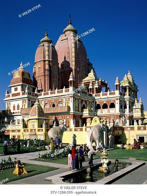 Birla mandir, Delhi, Fortune, Garden, Goddess, Good, Holiday, India, Asia, Lakshmi, Landmark, Monument, Narayan, Orissan, Prospe