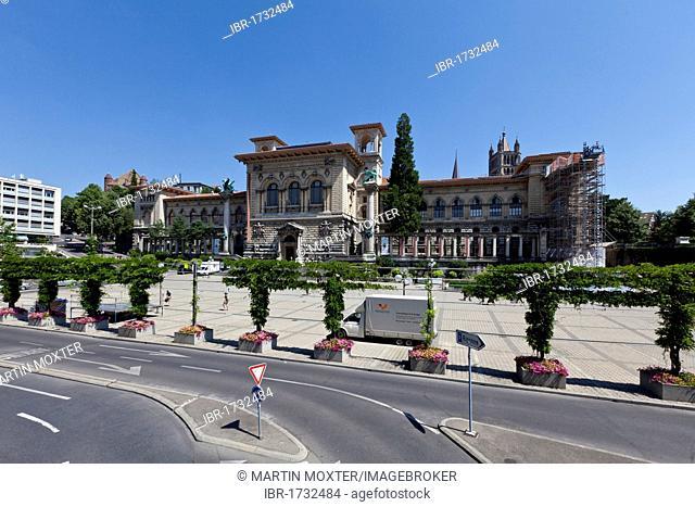Archaeological Museum Palais de Rumine, Lausanne, canton of Vaud, Lake Geneva, Switzerland, Europe
