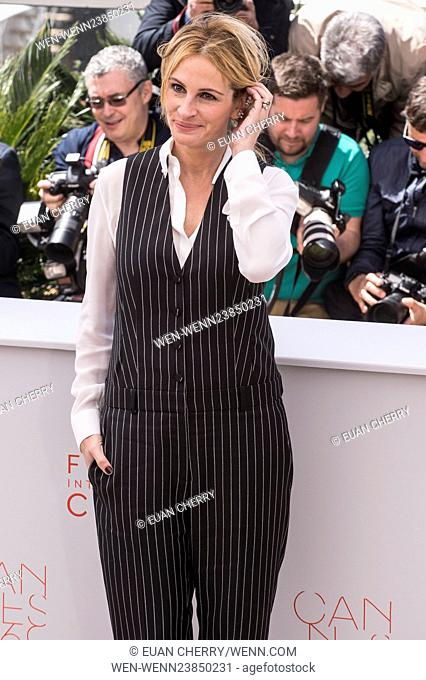 69th Cannes Film Festival - 'Money Monster' - Photocall Featuring: Julia Roberts Where: Cannes, France When: 12 May 2016 Credit: Euan Cherry/WENN.com