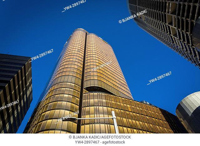 CBD skyscrapers, Central Business District, Sydney, NSW, Australia