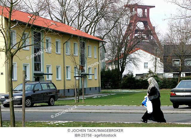 DEU, Germany, Essen : Katernberg, poorest city district in western germany. Lowest household income in the City of Essen
