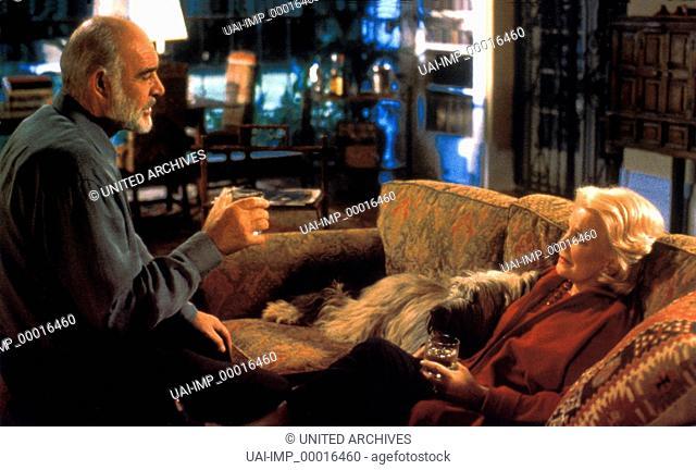 Leben und Lieben in L.A., (PLAYING BY HEART) GB-USA 1998, Regie: Willard Carroll, SEAN CONNERY, GENA ROWLANDS, Stichwort: Hund, Sofa