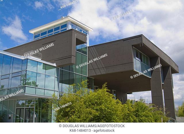 Langara College library building, Vancouver, BC, Canada