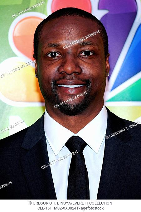 Rob Brown at arrivals for NBC Network Upfronts 2015 - Part 2, Radio City Music Hall, New York, NY May 11, 2015. Photo By: Gregorio T