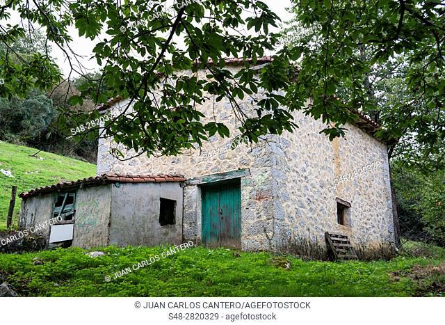 Cabaña. Cantabria. España. Europa